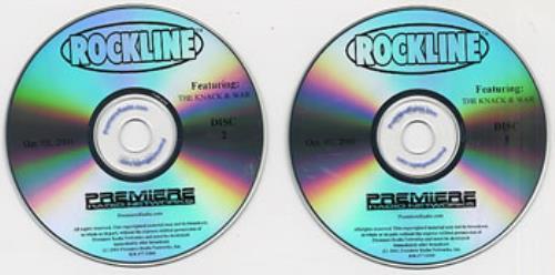 War Rockline 2001 USA 2-CD album set 3 OCT 2001 lowest price