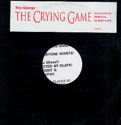 "Image of Boy George The Crying Game 1993 USA 12"" vinyl SPRO04738"