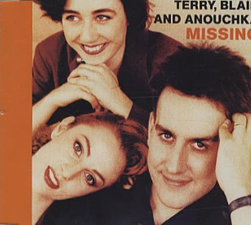 Terry Blair and Anouchka Missing 1989 UK CD single CHSCD3381