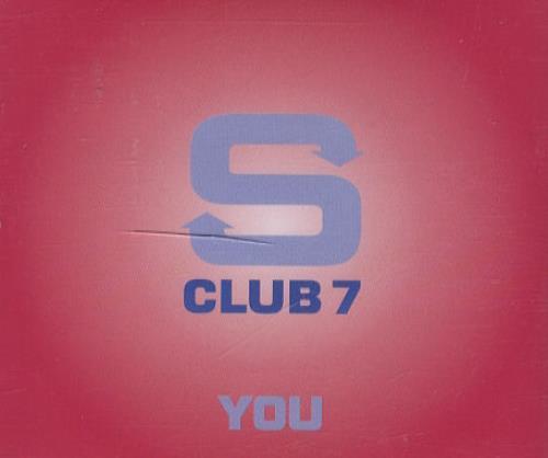 Image of S Club 7 You 2001 European CD single YOU3