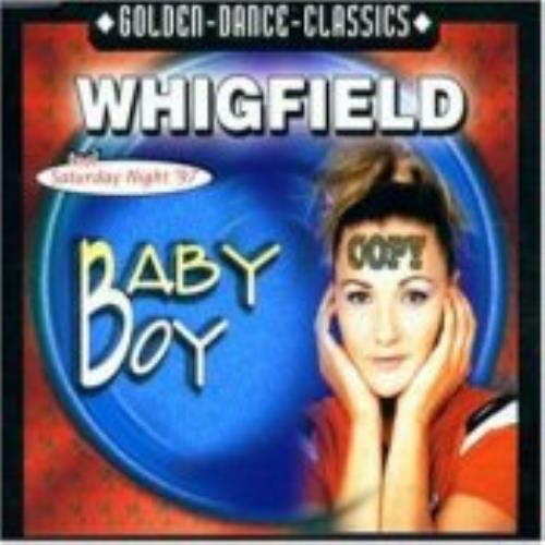 Whigfield Baby Boy 1997 German CD single ZYX86918