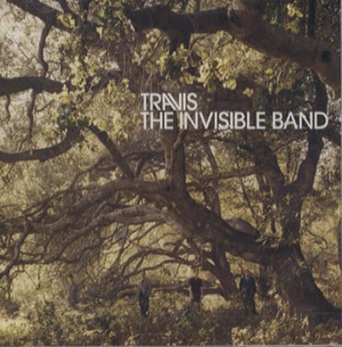 Travis (90s) The Invisible Band 2001 Japanese CD album ESCA8325