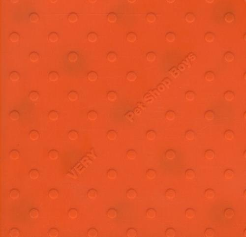 Image of Pet Shop Boys Very - Original Embossed Orange Case 1993 UK CD album CDPCSD143
