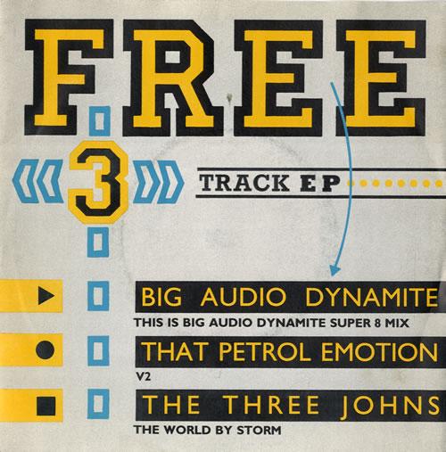 Big Audio Dynamite This Is Big Audio Dynamite Super 8 Mix 1986 UK 7 vinyl RM3