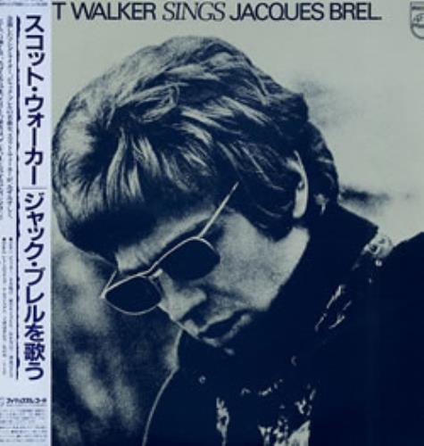 Scott Walker Sings Jaques Brel 1982 Japanese vinyl LP 28PP-31