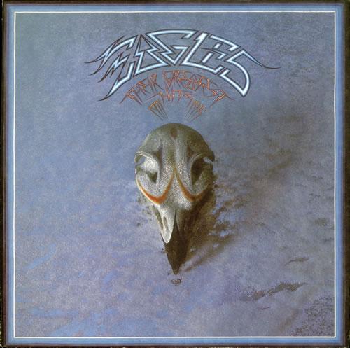 The Eagles Their Greatest Hits 1971-1975 - 1st 1976 UK vinyl LP K53017