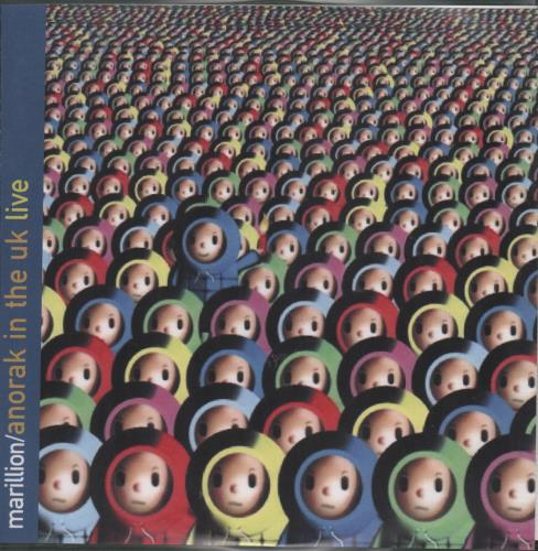 Marillion Anorak In The UK Live 2002 UK CDR acetate CDR ACETATE