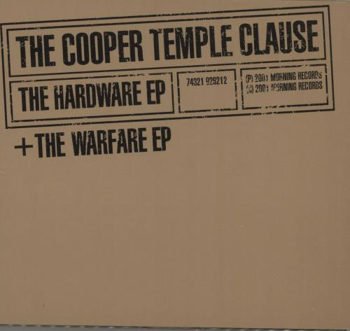 Cooper Temple Clause - The Hardware Ep + The Warfare Ep