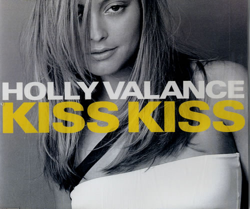 Holly Valance Kiss Kiss 2002 UK CD single LONCD464