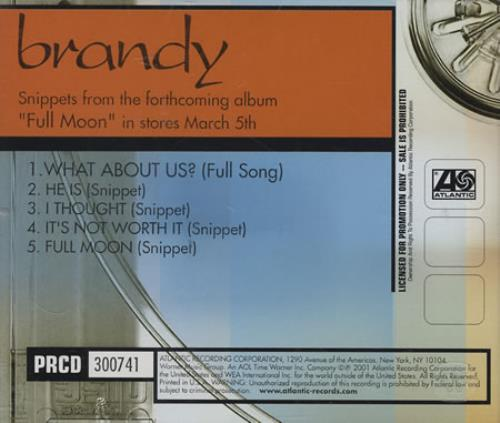 Brandy - What About Us? LP
