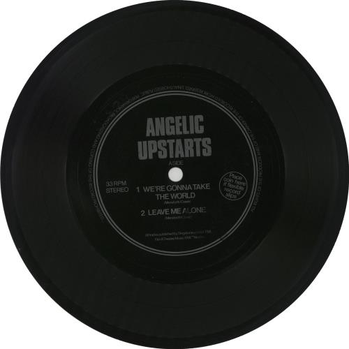 Angelic Upstarts We\'re Gonna Take The World - flexi 1981 UK 7\