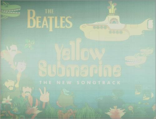 The Beatles Yellow Submarine 1999 USA display PROMO DISPLAY