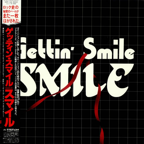 Smile Gettin\' Smile + Obi 1982 Japanese vinyl LP 18PP-1(M)