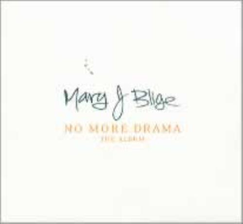 Mary J Blige No More Drama The Album 2001 USA CD album 0881126162