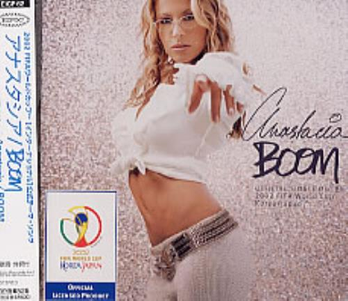 Anastacia Boom 2002 Japanese CD single EICP62