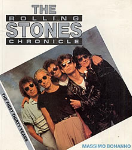 Rolling Stones The Rolling Stones Chronicle 1990 UK book 0859651355