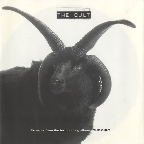 The Cult Excerpts From The Forthcoming Album The Cult 1994 UK 7 vinyl MF2