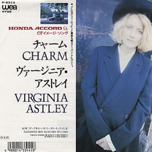 Virginia Astley Charm Japanese 7 vinyl P2313