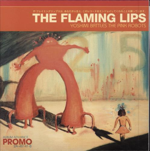 The Flaming Lips Yoshimi Battle The Pink Robots 2002 USA CD album 2A-48141-B