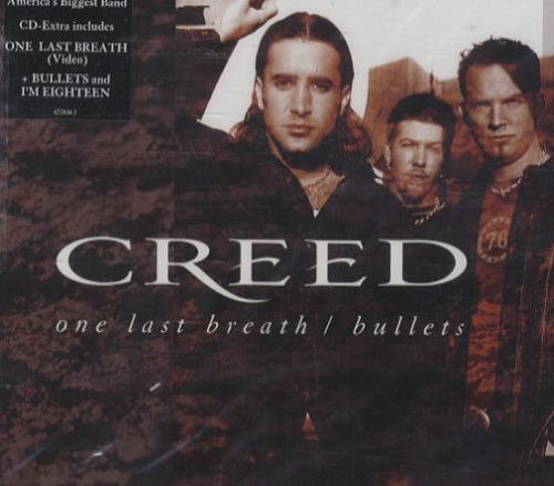 Creed One Last Breath 2002 UK CDDVD single set 67282629