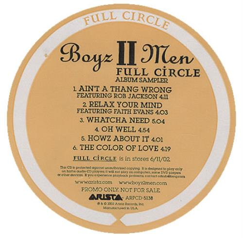 Boyz II Men - Full Circle - Album Sampler
