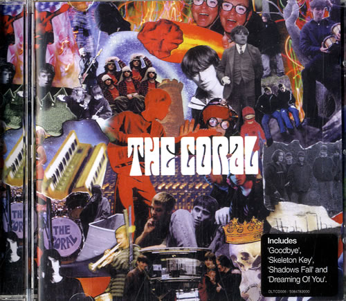 The Coral The Coral 2002 UK CD album DLTCD006