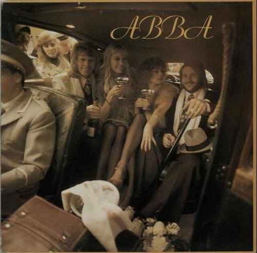 Abba Abba  2nd UK vinyl LP EPC80835