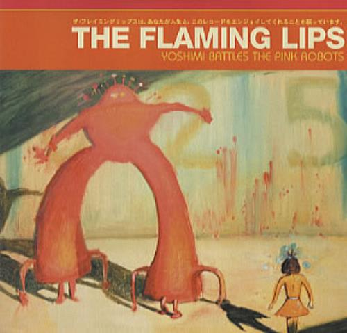 The Flaming Lips Yoshimi Battles The Pink Robots 2002 German CD album PROP05274