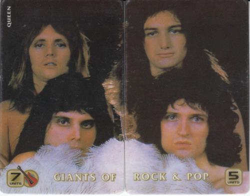 Image of Queen Giants Of Rock & Pop - 2 USA phone card PHONE CARDS