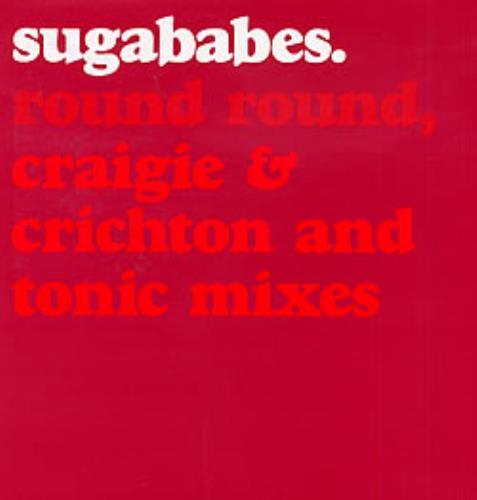 Sugababes Round Round 2002 UK 12 vinyl 12IS804DJ