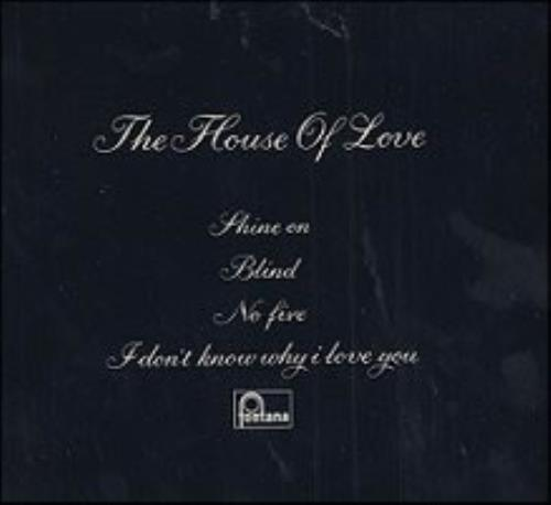 The House Of Love The House Of Love 1989 UK CD single LOVCD1