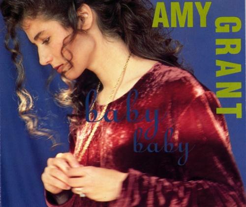 Amy Grant Baby Baby 1991 UK CD single AMCD727