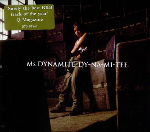 Ms. Dynamite DyNaMiTee 2002 UK CD single 5709782