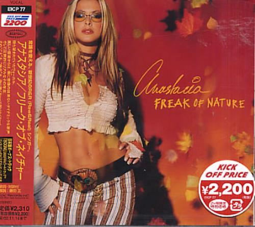 Anastacia Freak Of Nature 2002 Japanese CD album EICP77