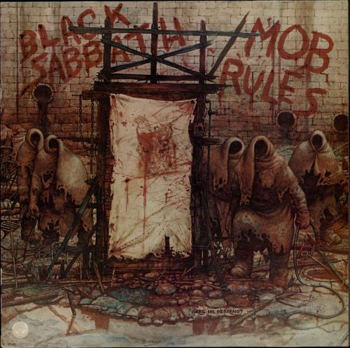 Black Sabbath - Mob Rules Vinyl