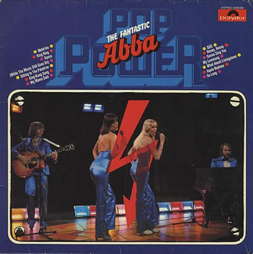 Abba The Fantastic Abba 1978 German vinyl LP 2459309