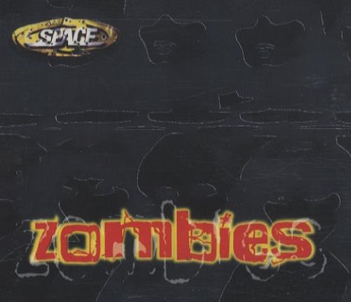 Space (90s) Zombies 2002 UK CD single CDMUTANT1