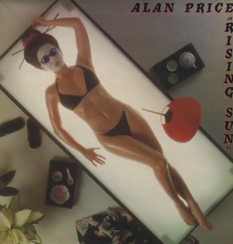 Alan Price Rising Sun 1980 UK vinyl LP JETLP227
