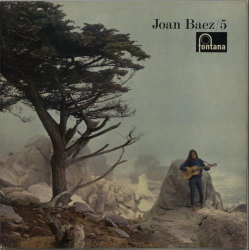 Joan Baez Joan Baez 5  Mono 1964 UK vinyl LP TFL6043