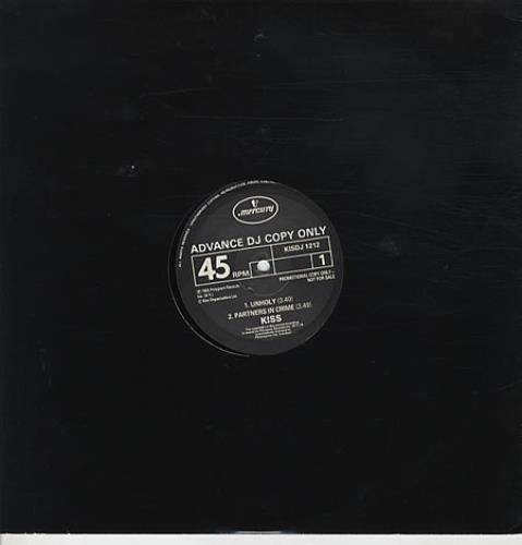 Kiss - Unholy Record