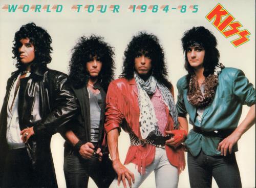 Kiss - World Tour 1984-85