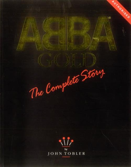 Abba Gold  The Complete Story 1993 UK book 0907938027