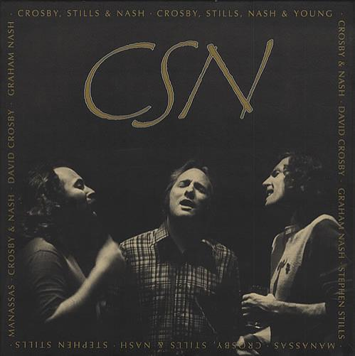 Image of Crosby Stills & Nash C.S.N. - Deluxe Box 1991 German cd album box set 7567-82319-2