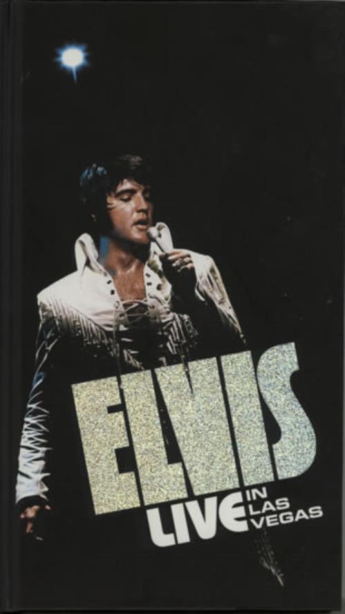 Elvis Presley Live In Las Vegas 2001 UK cd album box set 07863693542
