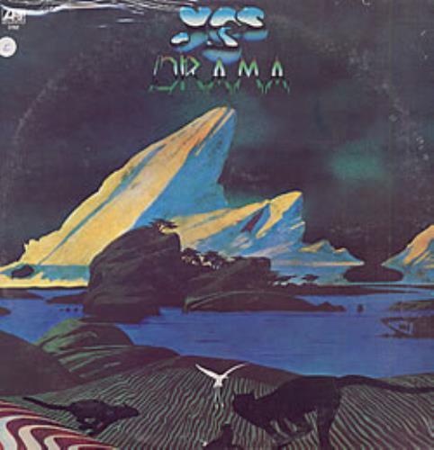 Yes Drama  sealed Venezuelan vinyl LP 2782