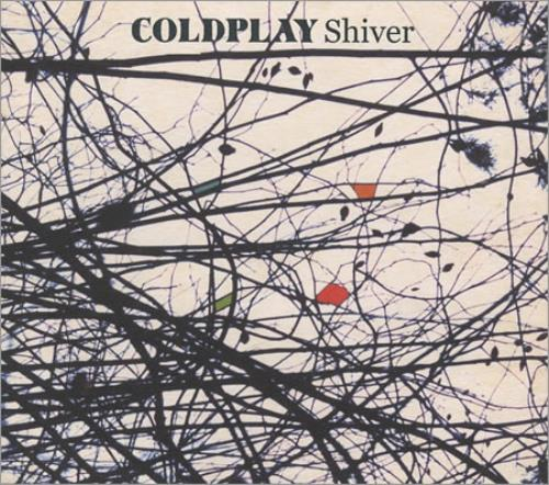 Coldplay Shiver 2000 UK CD single CDR6536