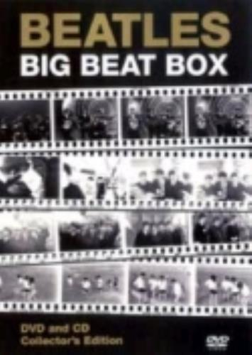 The Beatles Big Beat Box 2001 UK 2disc CDDVD set WHE1043