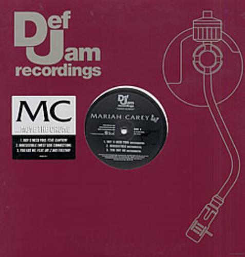 Mariah Carey Move The Crowd Sampler 2002 USA 12 vinyl ISLR157491