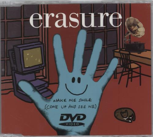 Erasure Make Me Smile [Come Up and See Me] 2003 UK DVD Single DVDMUTE292