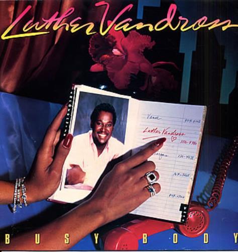 Vandross, Luther - Busy Body Vinyl